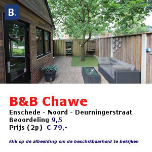 bed and breakfast enschede chawe