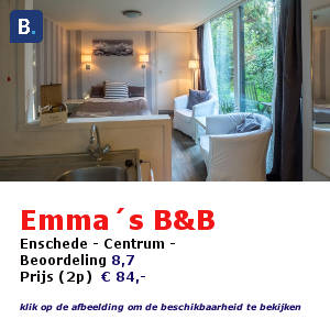 bed and breakfast enschede emma